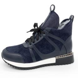 Зимние высокие кроссовки LICCI B453-H2493-5 Синий