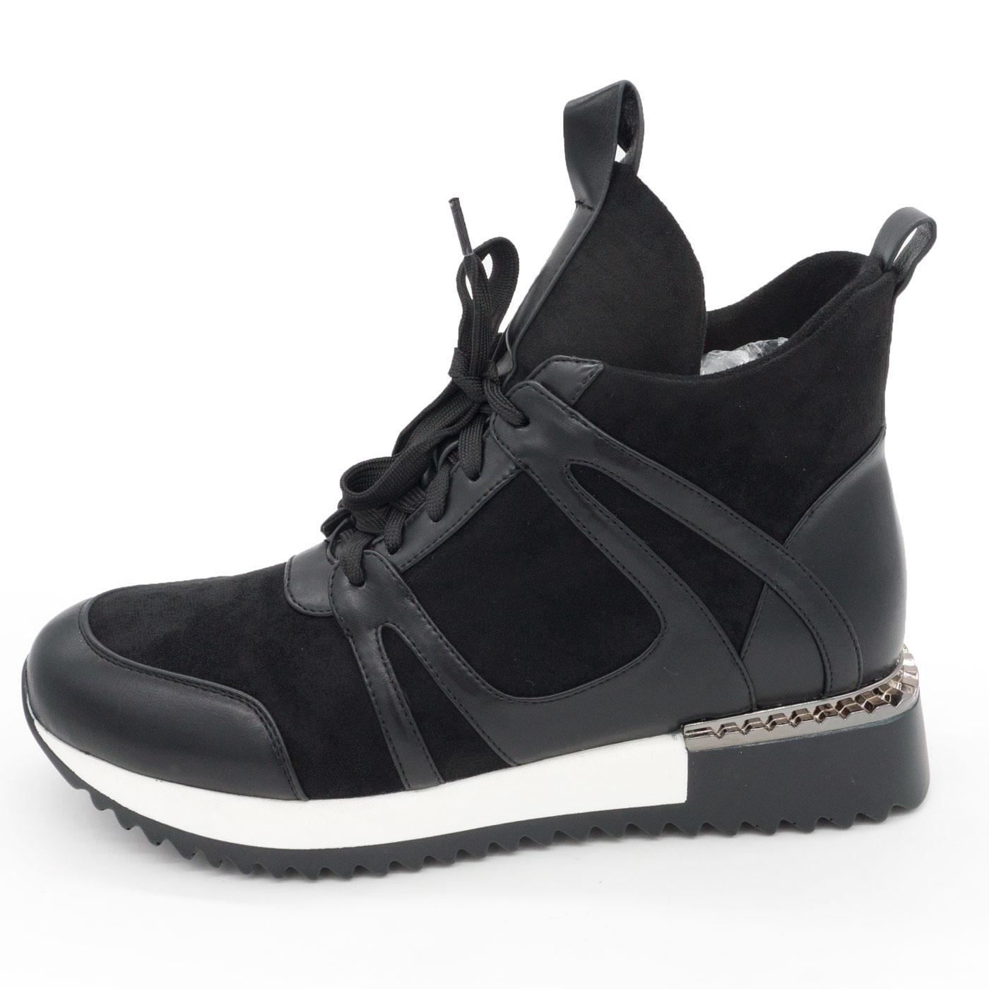 фото main Зимние высокие кроссовки LICCI B453-H2493-1 черный main