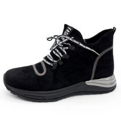 Зимние высокие кроссовки LICCI B448-H2415-1 черный