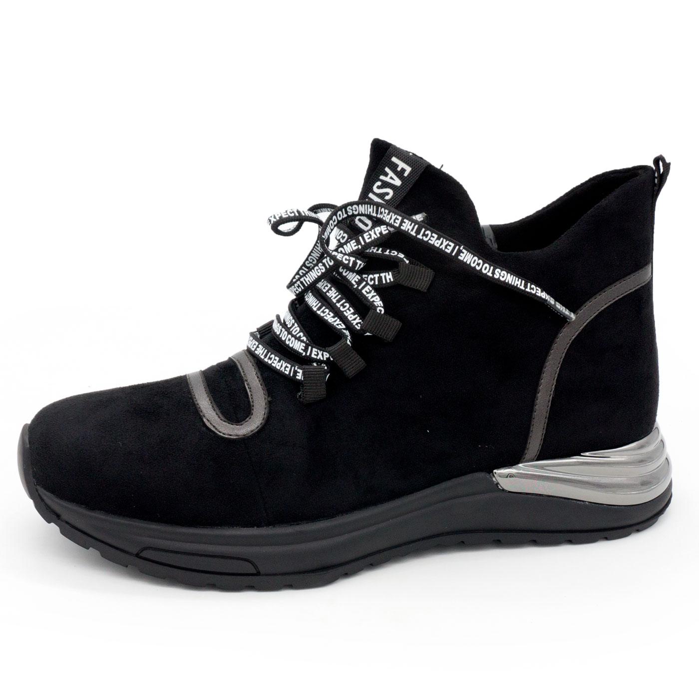 фото main Зимние высокие кроссовки LICCI B448-H2415-1 черный main