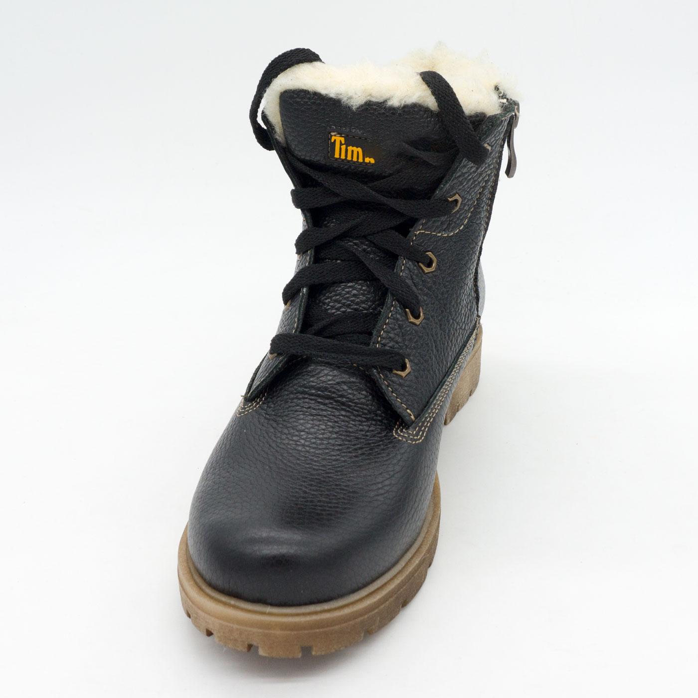 фото back Коричневые ботинки - Tim-and 104 (сделано в Украине) back