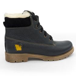 Коричневые ботинки - Tim-and 104 (сделано в Украине)