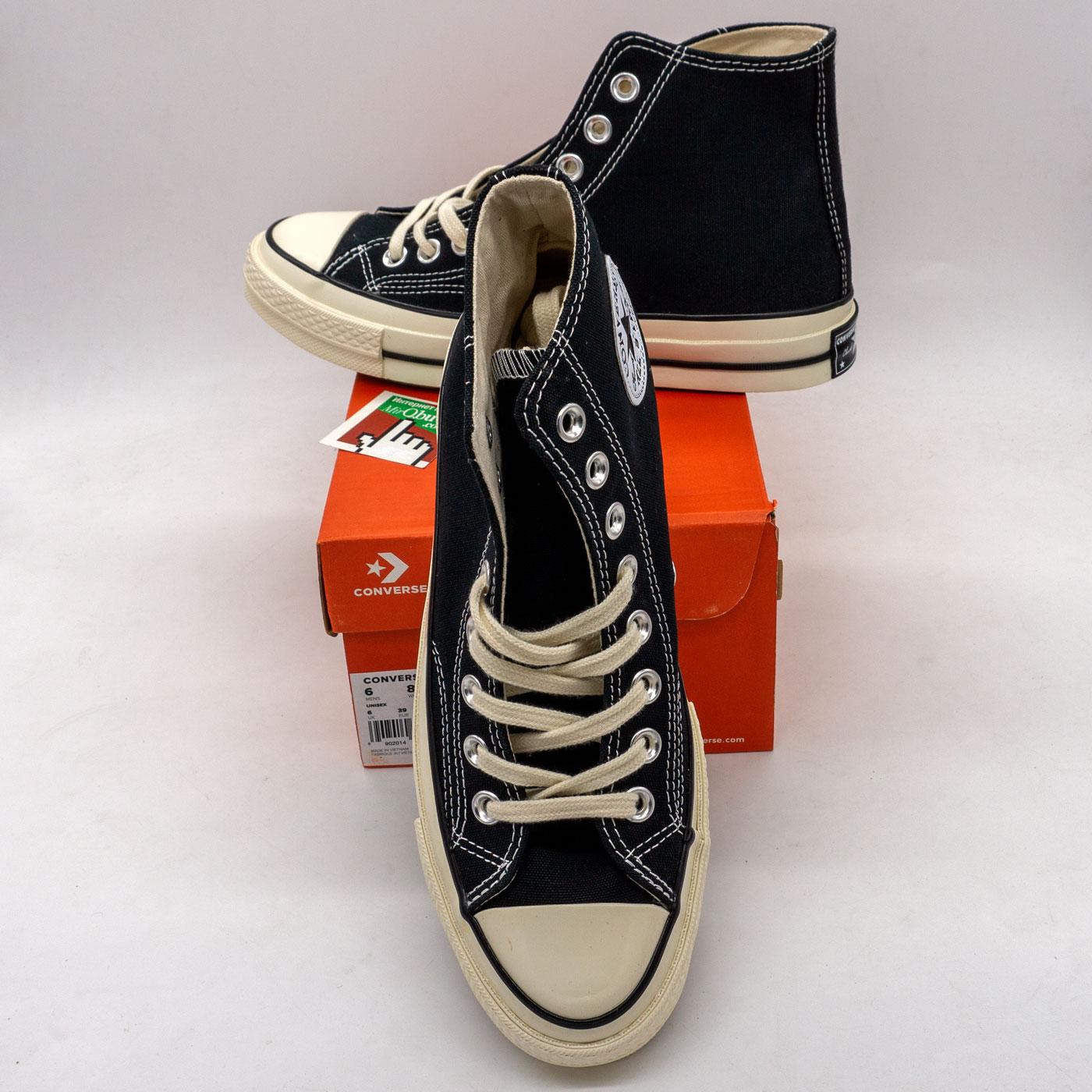 фото back Кеды Converse Chuck 70 высокие черно-белые - Топ качество! back