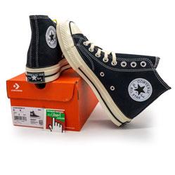 Кеды Converse Chuck 70 высокие черно-белые - Топ качество!