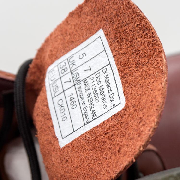 большое фото №6 Коричневые женские ботинки в Dr. Martens, натуральная кожа - Топ качество!