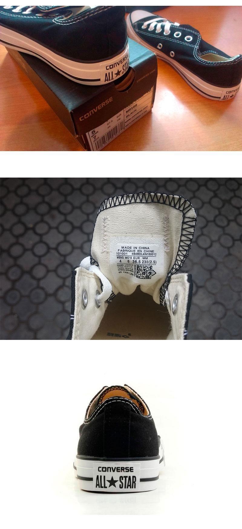 большое фото №6 Кеды Converse низкие черные 2 - Топ качество!