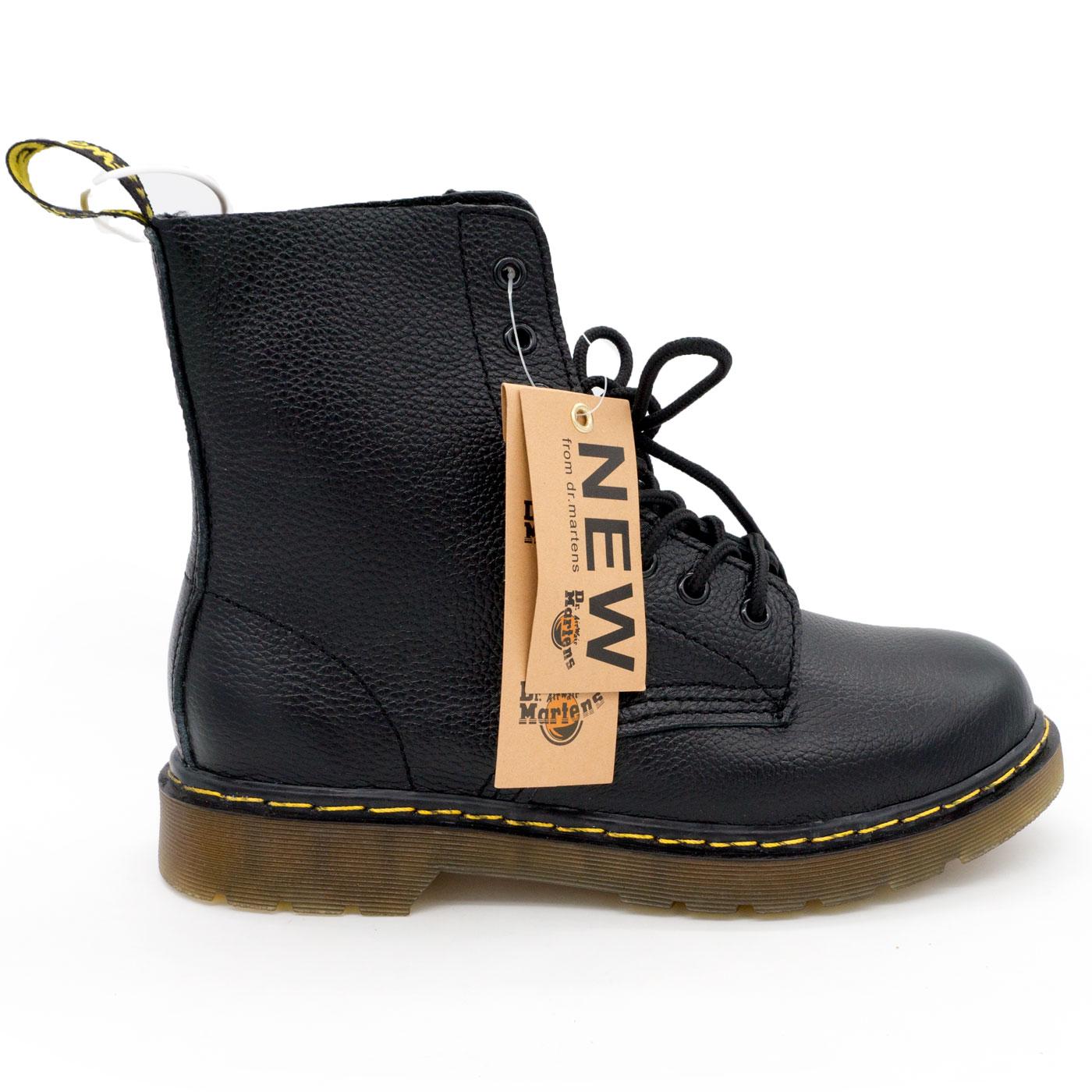 фото main Черные женские ботинки в Dr. Martens, натуральная кожа - Топ качество! main
