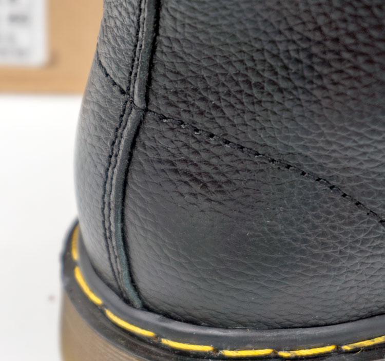 большое фото №5 Черные женские ботинки в Dr. Martens, натуральная кожа - Топ качество!