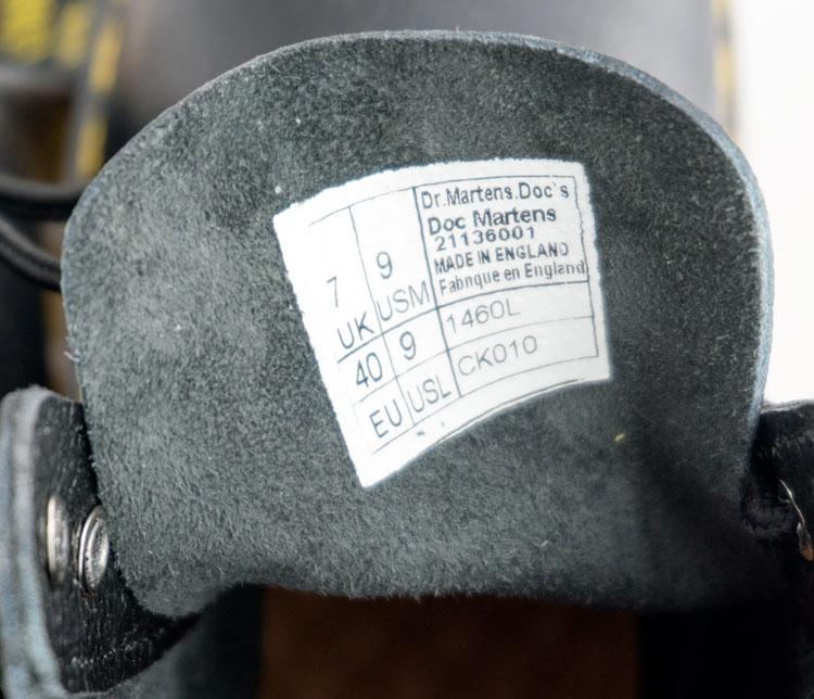 большое фото №6 Черные женские ботинки в Dr. Martens, натуральная кожа - Топ качество!