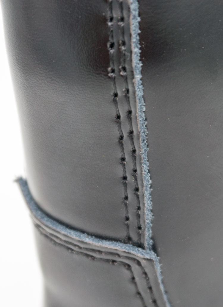 большое фото №6 Черные женские ботинки в Dr. Martens на платформе, натуральная кожа - Топ качество!