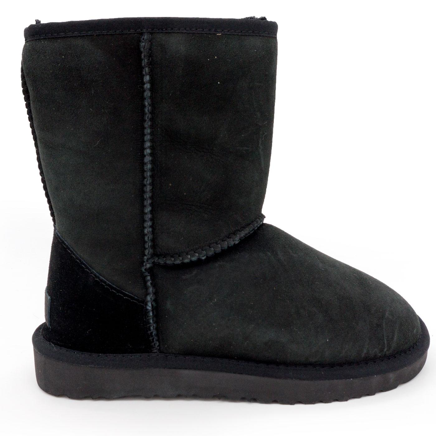 фото main Высокие зимние женские UGG (Уги) черные замша - Топ качество! main