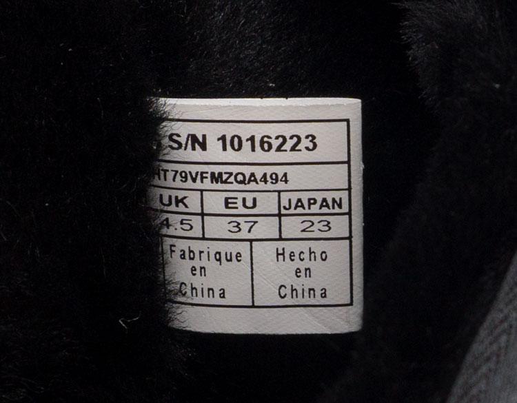 большое фото №6 Высокие зимние женские UGG (Уги) черные замша - Топ качество!