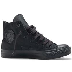 Converse высокие полностью черные - Топ качество!