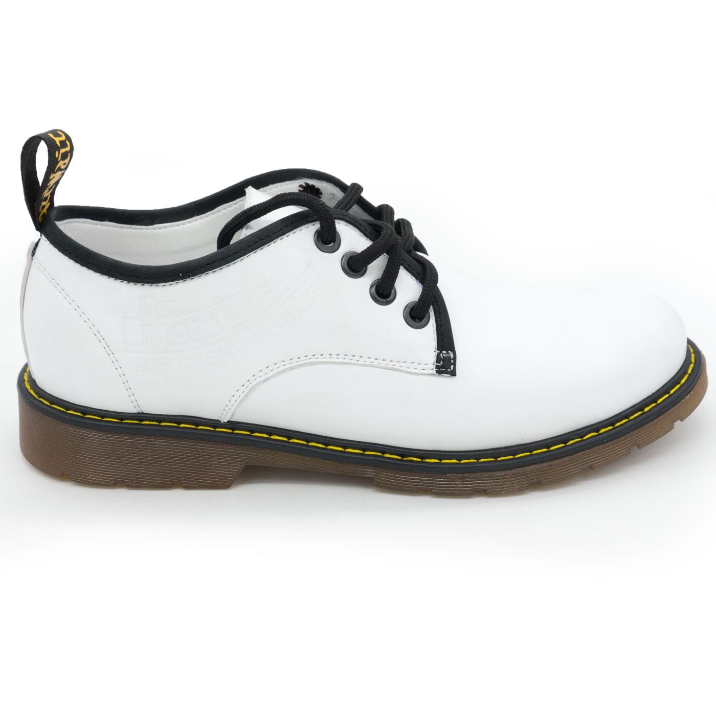 фото main Белые женские туфли Dr. Martens, натуральная кожа main