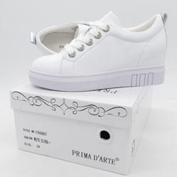 фото Женские кроссовки Prima d'Arte F80087 белые