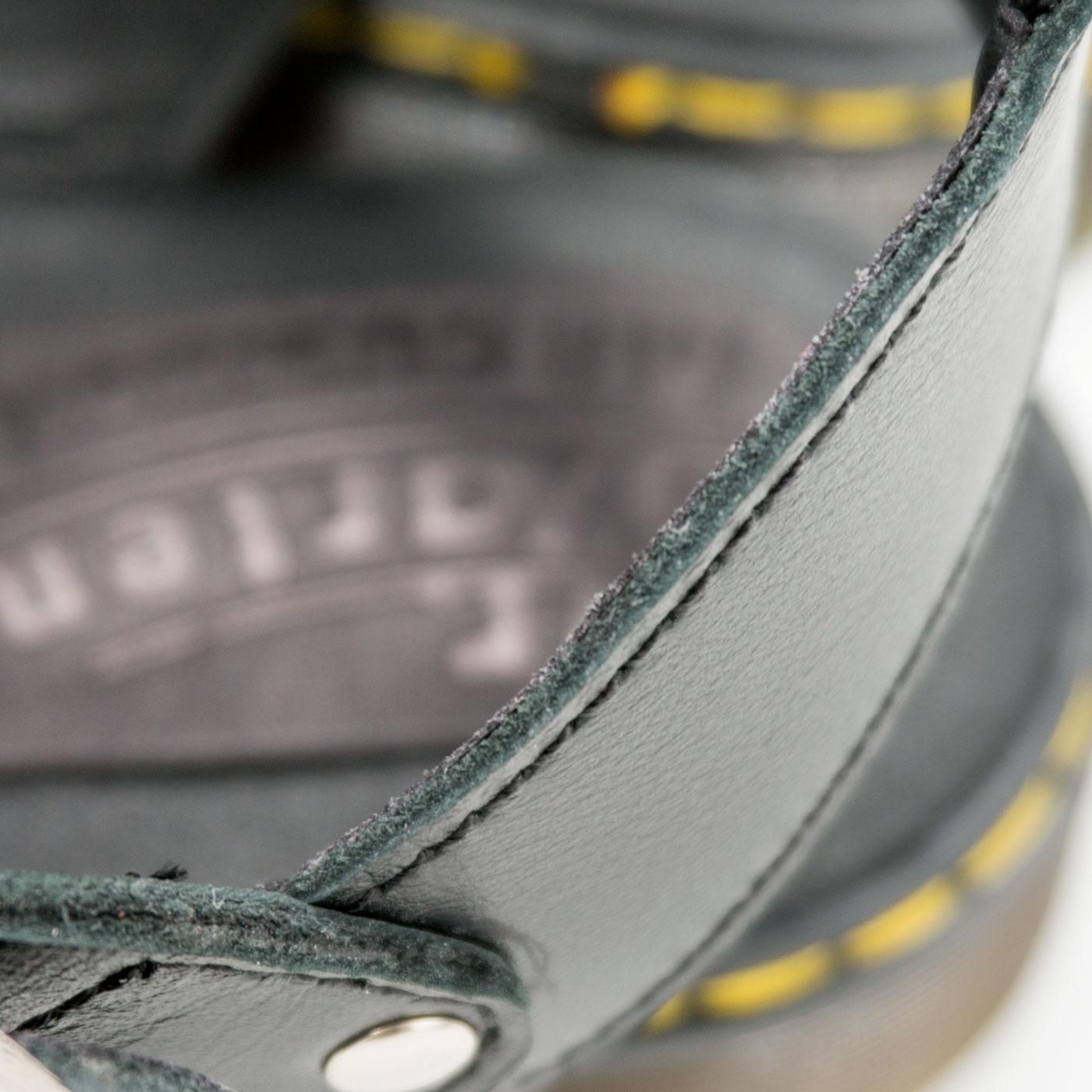 большое фото №5 Черные женские сандали Dr. Martens, натуральная кожа