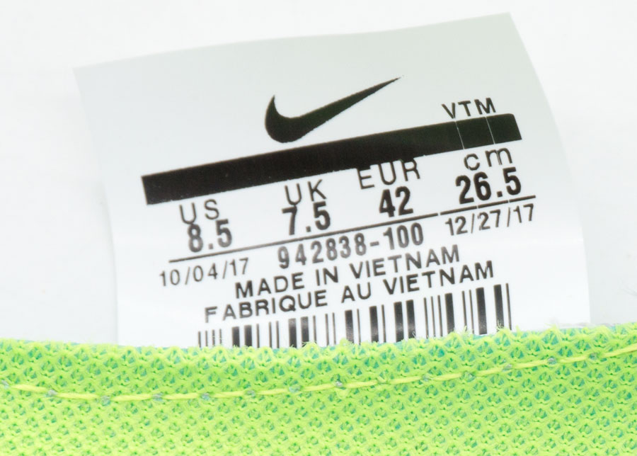 большое фото №5 Кроссовки для бега Nike Free Run Flyknit Найк Фри Ран, черно-белые