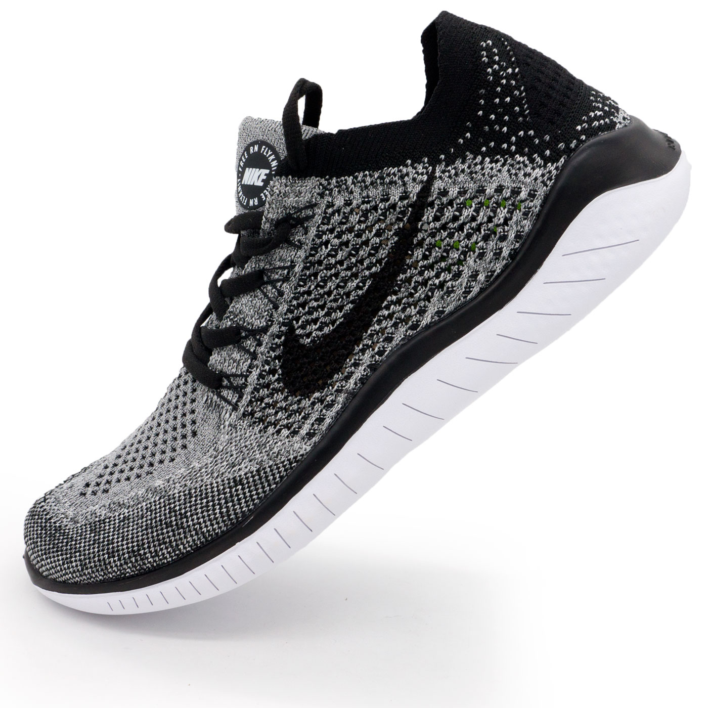 фото main Кроссовки для бега Nike Free Run Flyknit Найк Фри Ран, серые main