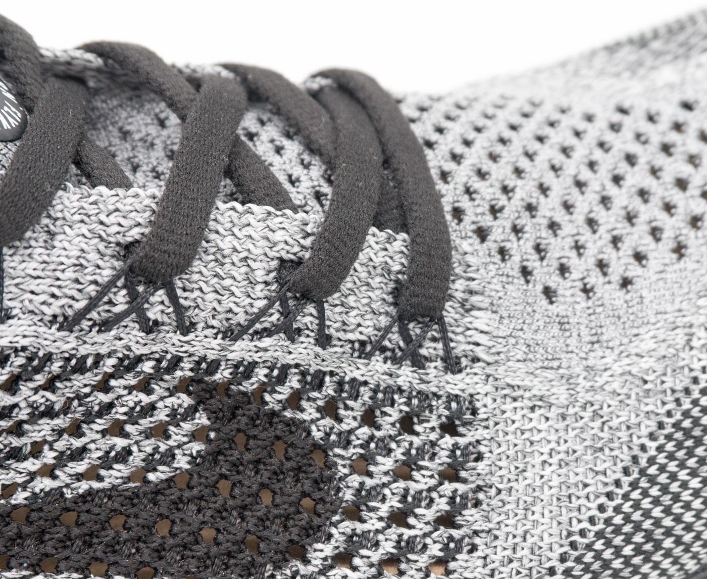 большое фото №6 Кроссовки для бега Nike Free Run Flyknit Найк Фри Ран, серые