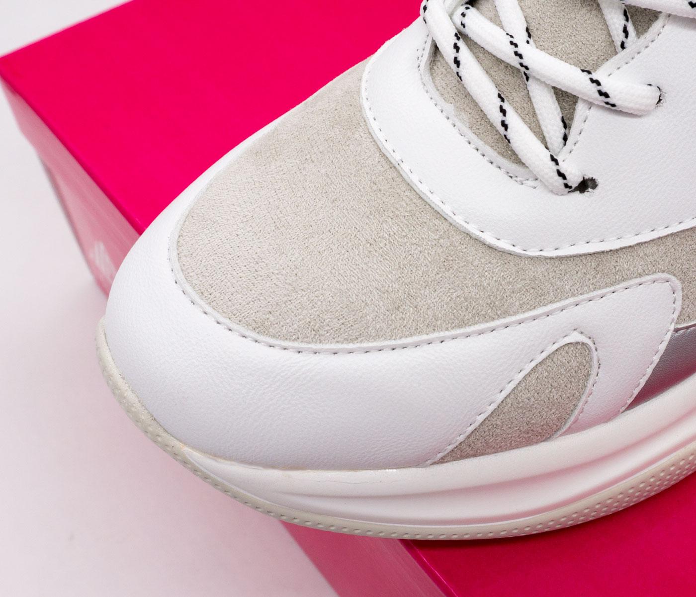 большое фото №6 Женские кроссовки STILLI 936-2 белые