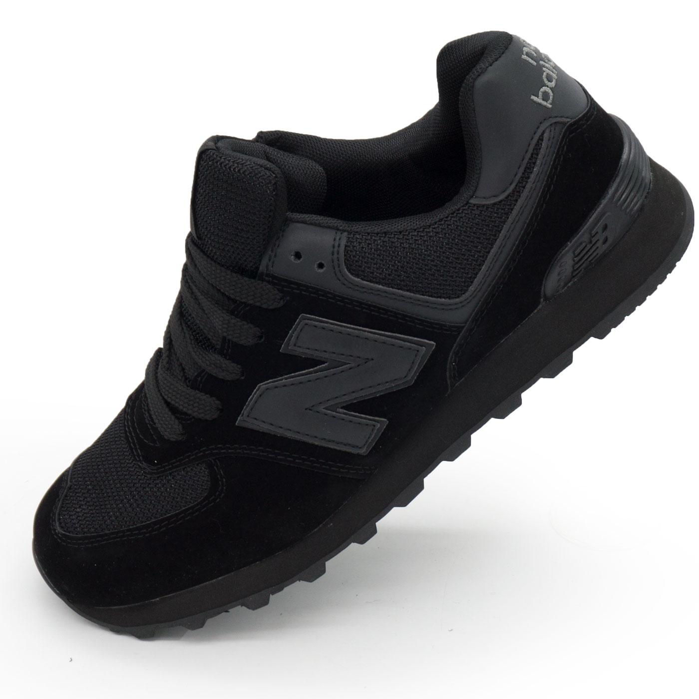 фото main Мужские кроссовки New Balance 574 полностью черные main