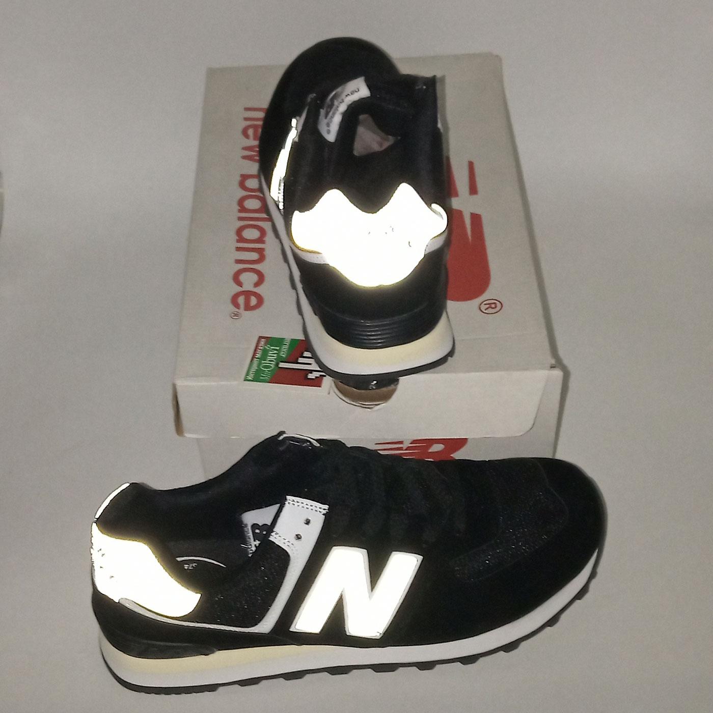 фото back Мужские кроссовки New Balance 574 черно белые back