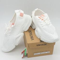 фото Женские кроссовки Vintage RA538-2 белые