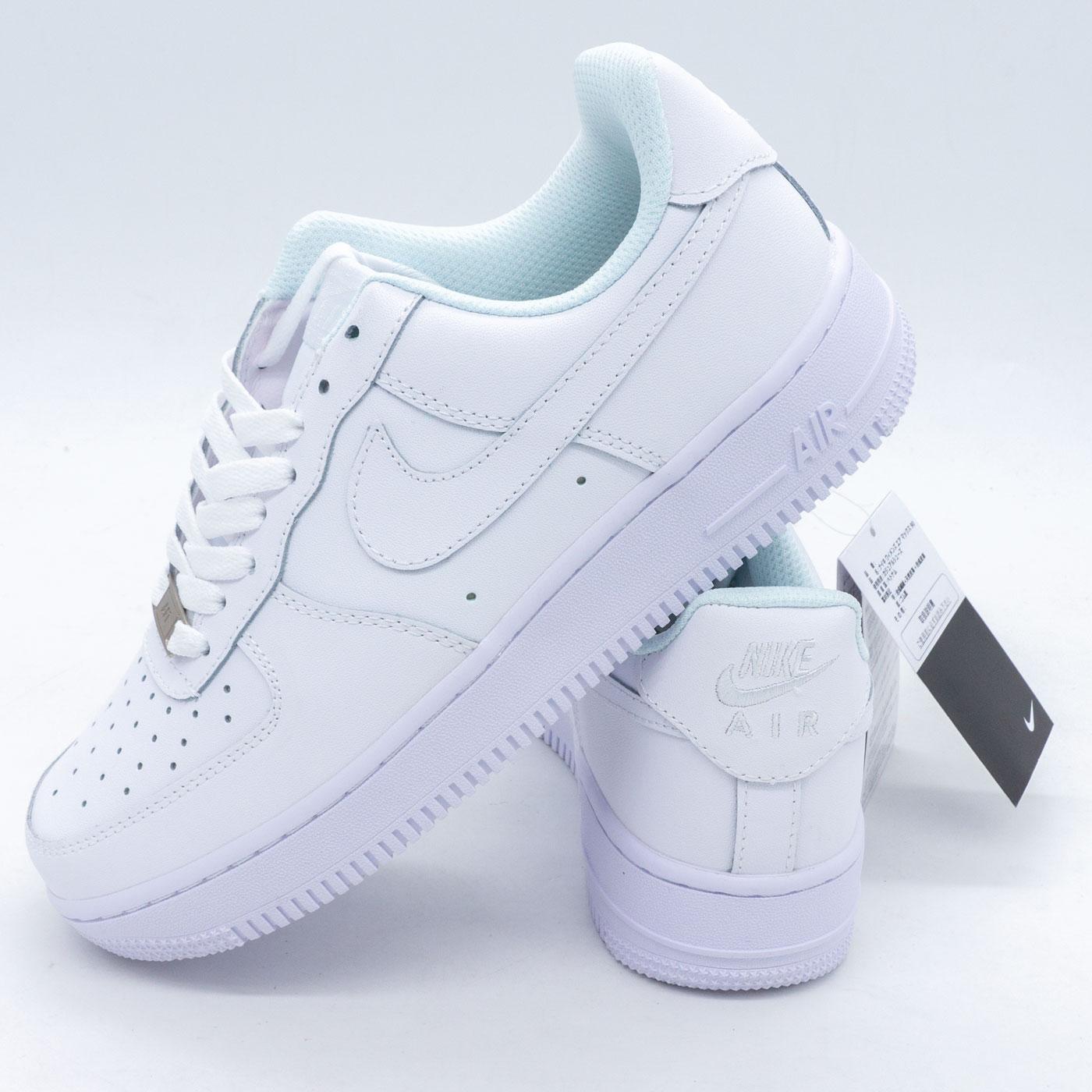 фото main Кроссовки Nike Air Force 1 низкие белые - Топ качество main
