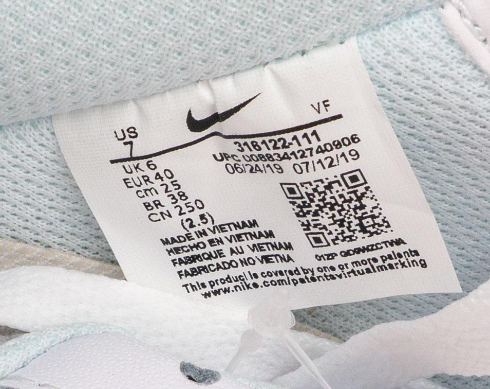 большое фото №5 Кроссовки Nike Air Force 1 низкие белые - Топ качество