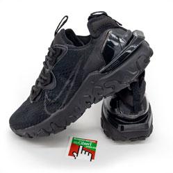 фото Кроссовки Nike React Vision DimSix полностью черные. Топ качество!