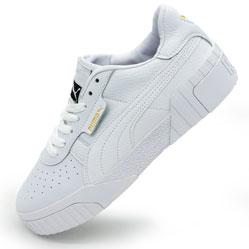 фото Кожаные кроссовки Puma Cali белые. Топ качество!