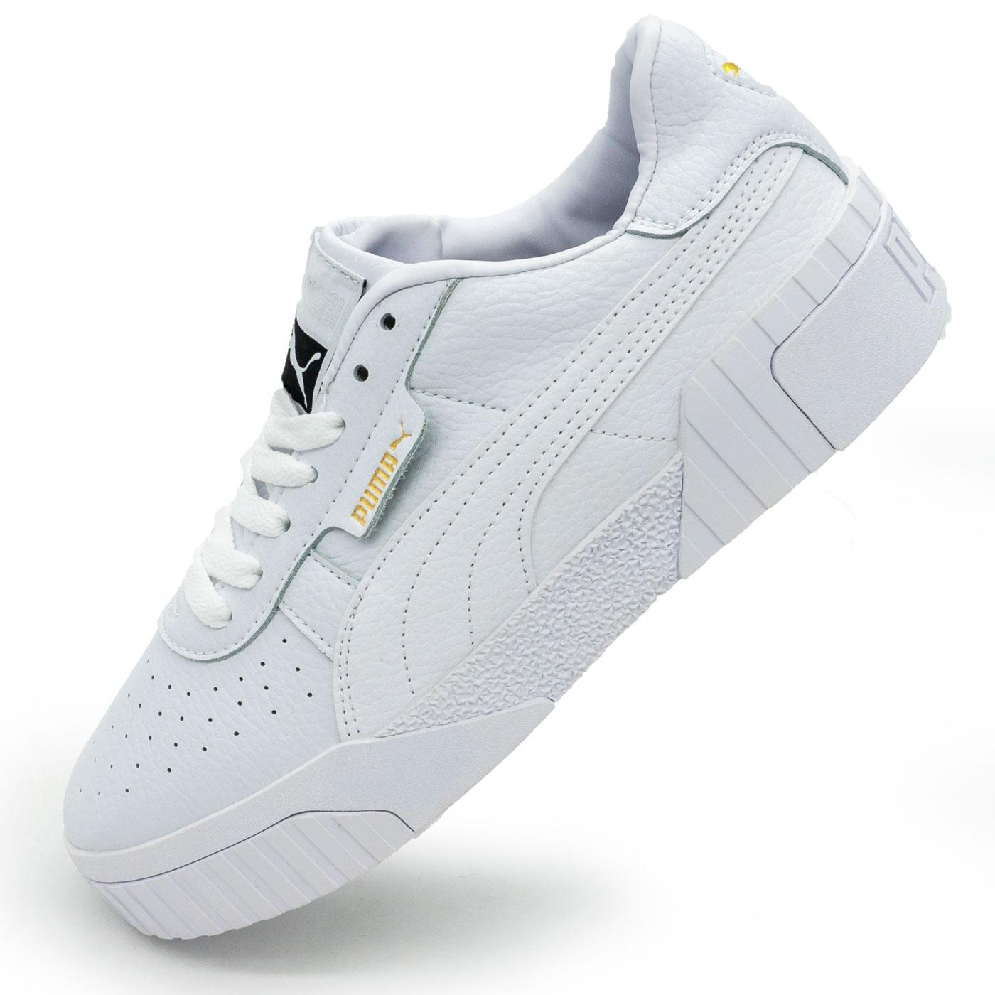 фото main Кожаные кроссовки Puma Cali белые. Топ качество! main