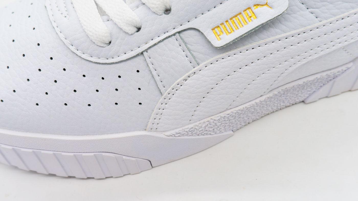 большое фото №5 Кожаные кроссовки Puma Cali белые. Топ качество!