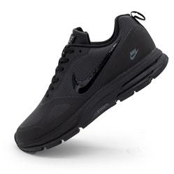 фото Мужские осенние черные кроссовки Nike Air Pegasus +30X - Топ качество!