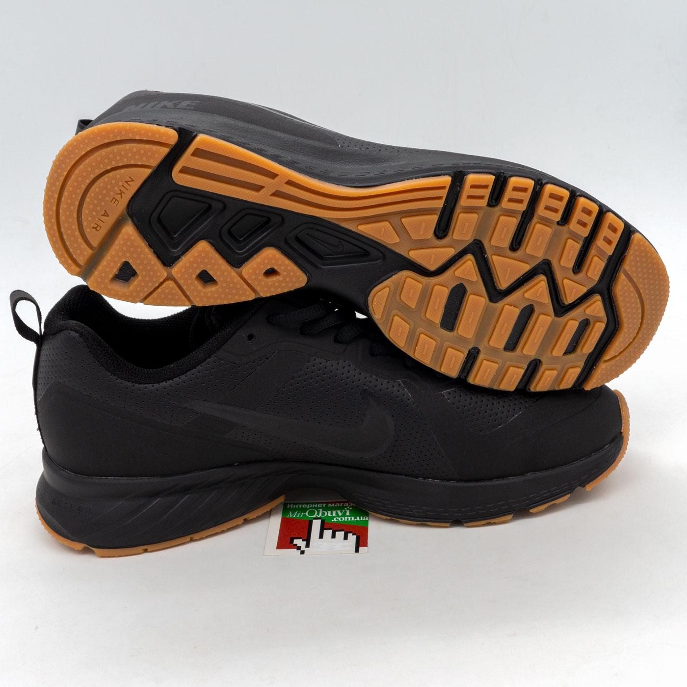 фото back Мужские осенние черные кроссовки Nike Air Relentless 7 MSL - Топ качество! back