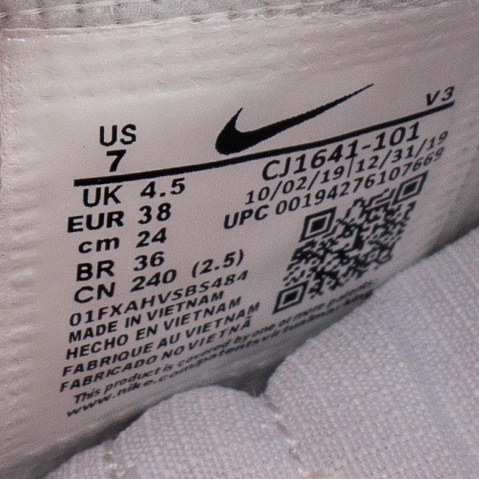 большое фото №6 Кроссовки Nike Air Force 1 Shadow бело-розовые - Топ качество