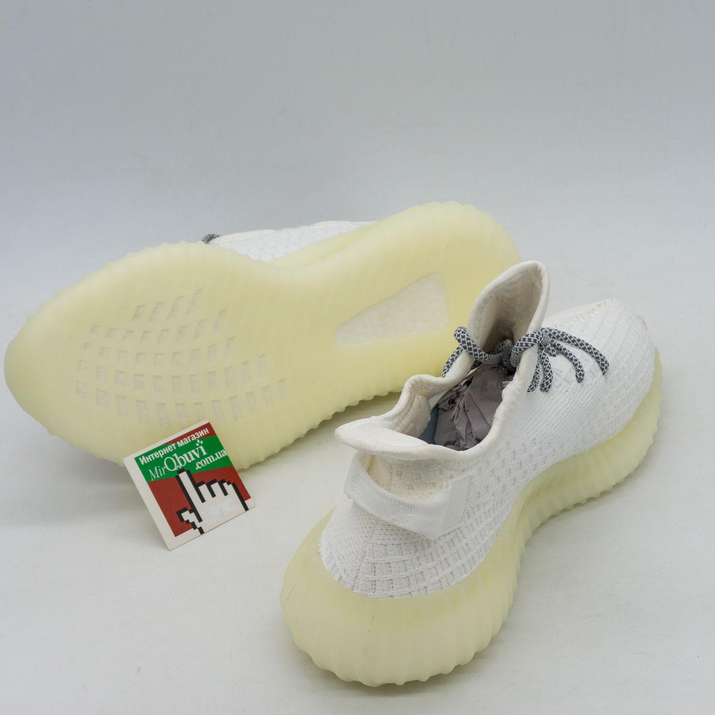 фото front Женские кроссовки STILLI ST8080-4 белые в стиле adidas yeezy boost 350 front