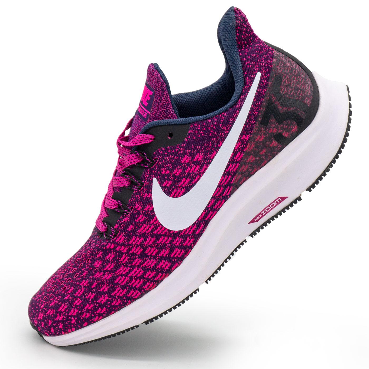 фото main Женские кроссовки для бега Nike Zoom Pegasus 35 бордовые. Топ качество! main