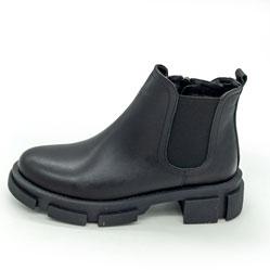 фото Черные женские туфли Dr. Martens chelsea, натуральная кожа