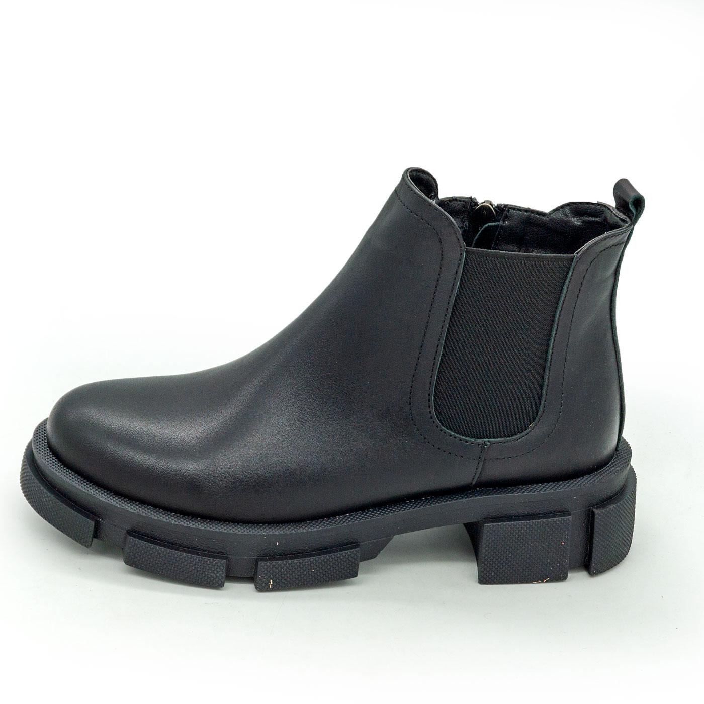 фото main Черные женские туфли Dr. Martens chelsea, натуральная кожа main