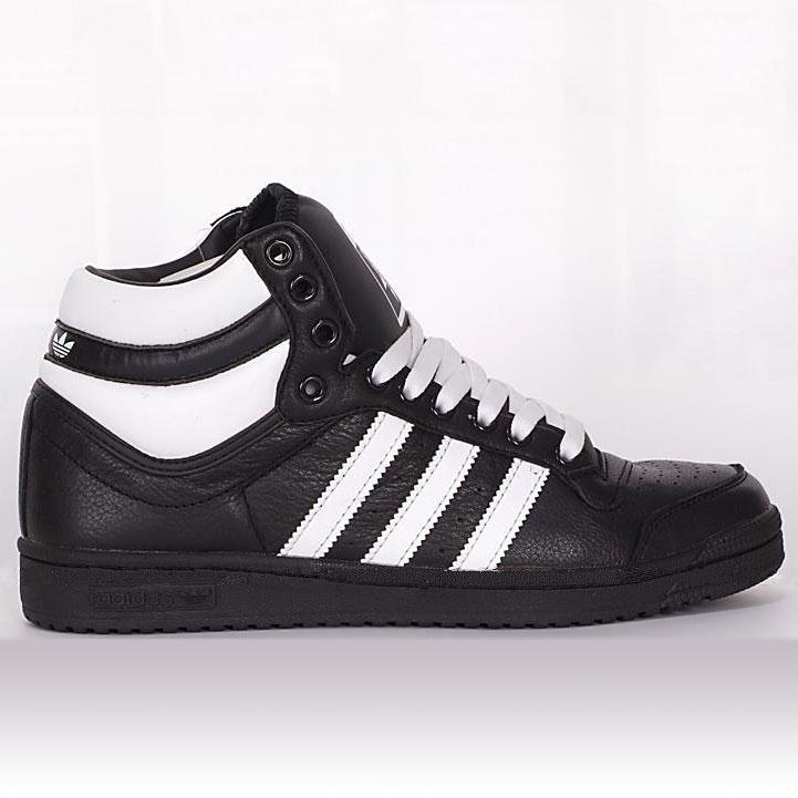 фото main Adidas Top Ten Hi черные - Original. Натуральна кожа main