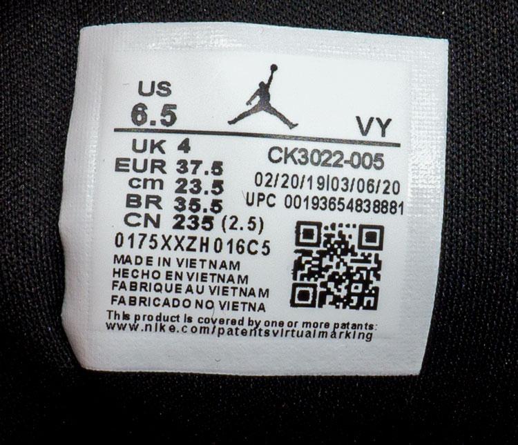 большое фото №6 Низкие черные c фиолетовым кроссовки Nke Air Jordan 1