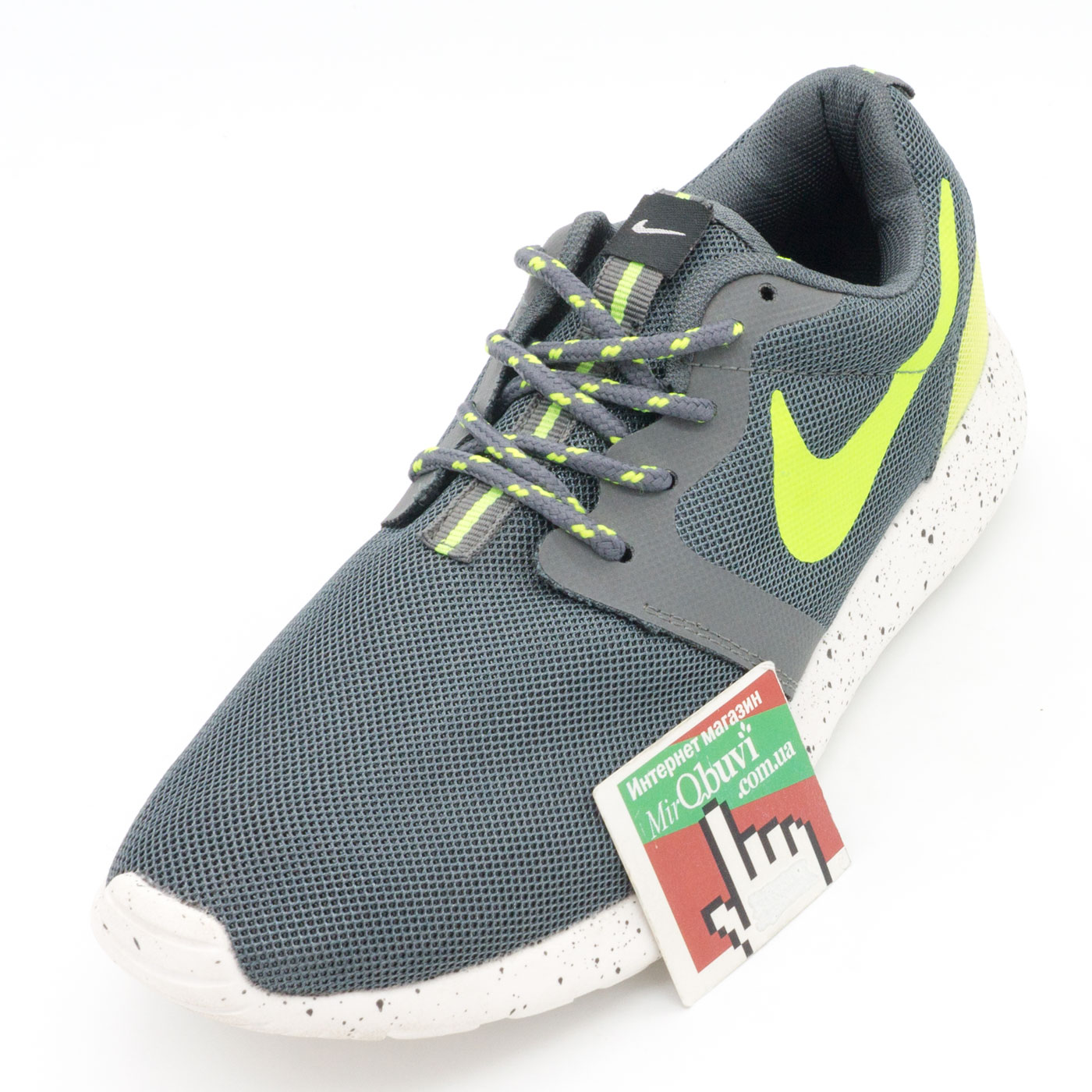фото front Nike Roshe Run синие front