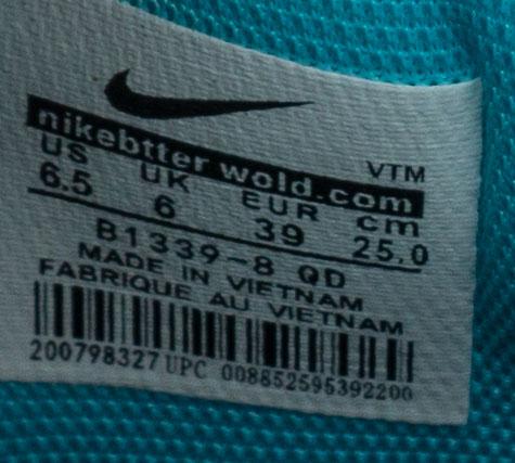 большое фото №6 Низкие черные c бирюзовым кроссовки Nke Air Jordan 1