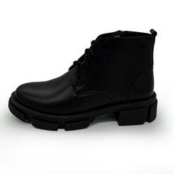 фото Черные женские туфли Dr. Martens chelsea, натуральная кожа 100