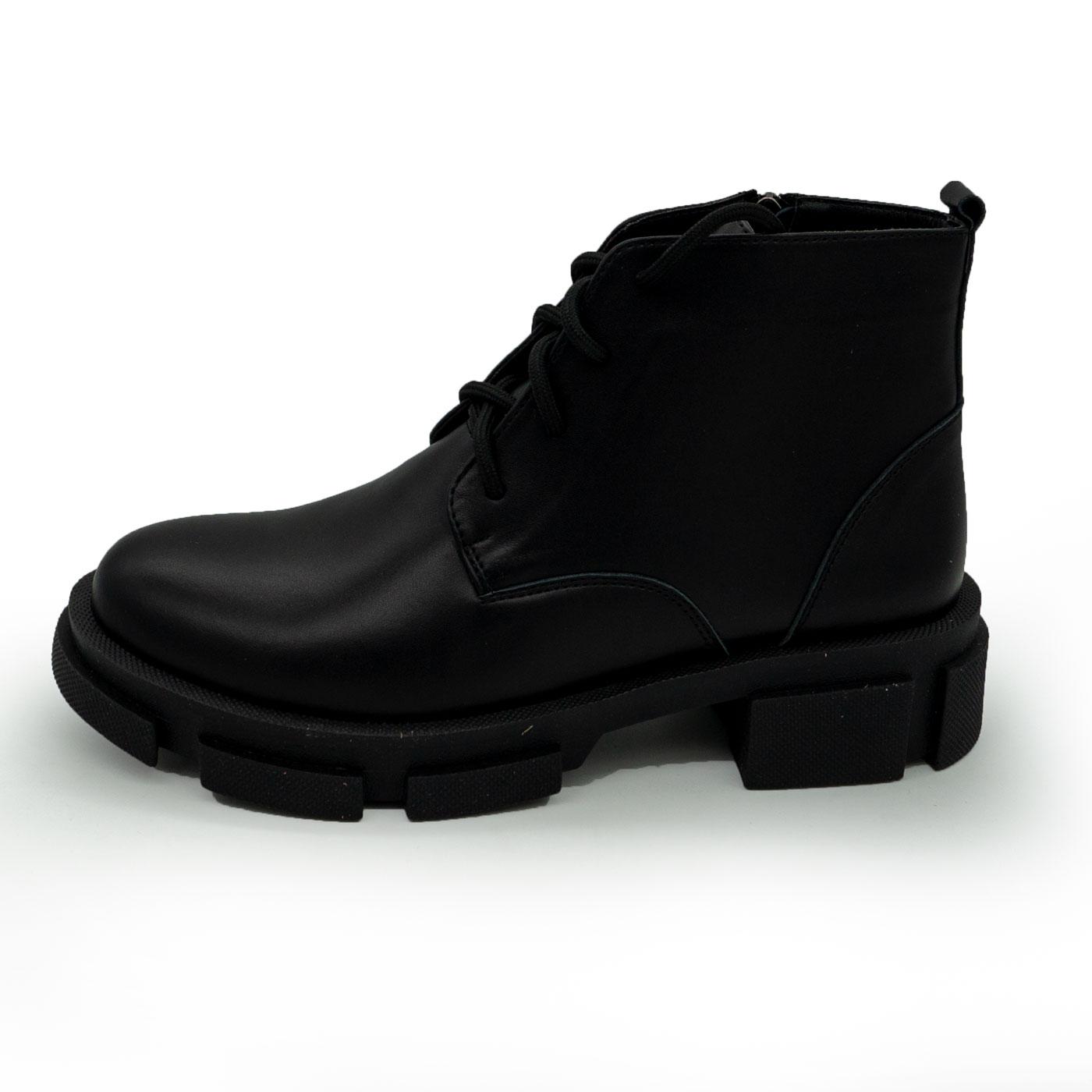 фото main Черные женские туфли Dr. Martens chelsea, натуральная кожа 100 main
