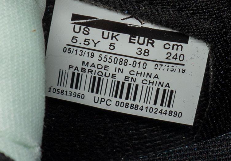 большое фото №6 Высокие черно белые кроссовки Nke Air Jordan 1