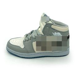 фото Высокие серые кроссовки Nke Air Jordan 1 Dior