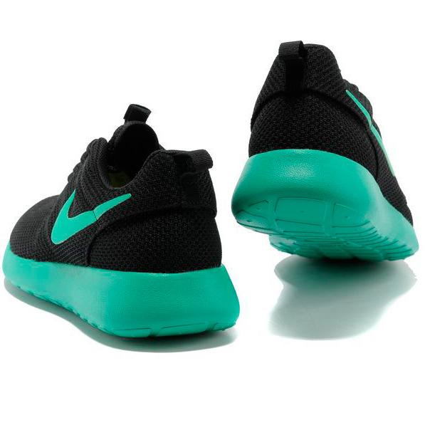 фото bottom Nike Roshe Run черн берюзовые bottom