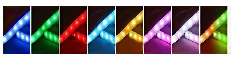 фото режимов подсветки кроссовок LED